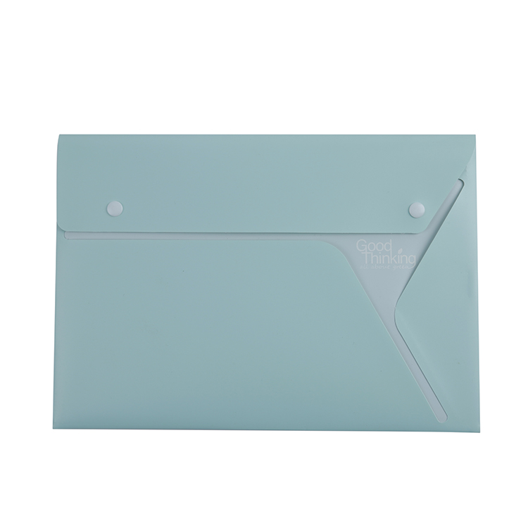 High Quality Oxo-Biodegradable PP Hard Cover File Folder XS22010