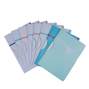 Two Tone PP Sheets Fashion A4 File Folder Report Cover XS24010