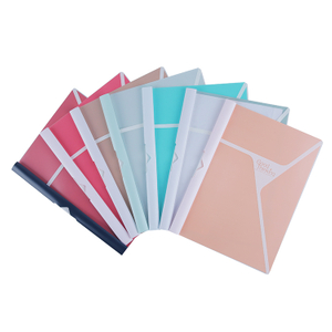 China Oxo-Biodegradable Custom Hot Selling A4 File Report Cover File Folder XS24020