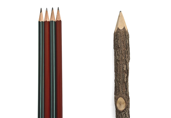 eco wood pencil